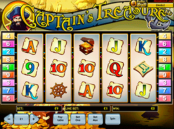 Captain's Treasure 3