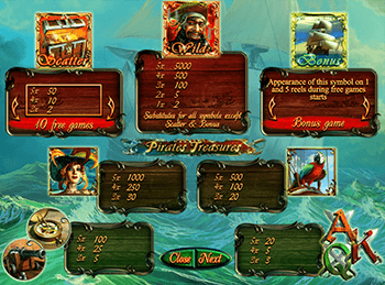 Pirates Treasures 3