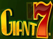 Giant 7 – популярный и горячо любимый игровой автомат от Novomatic